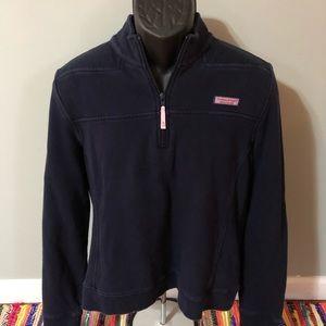 Vineyard Vines Sweatshirt Zipper Up Jacket Logo